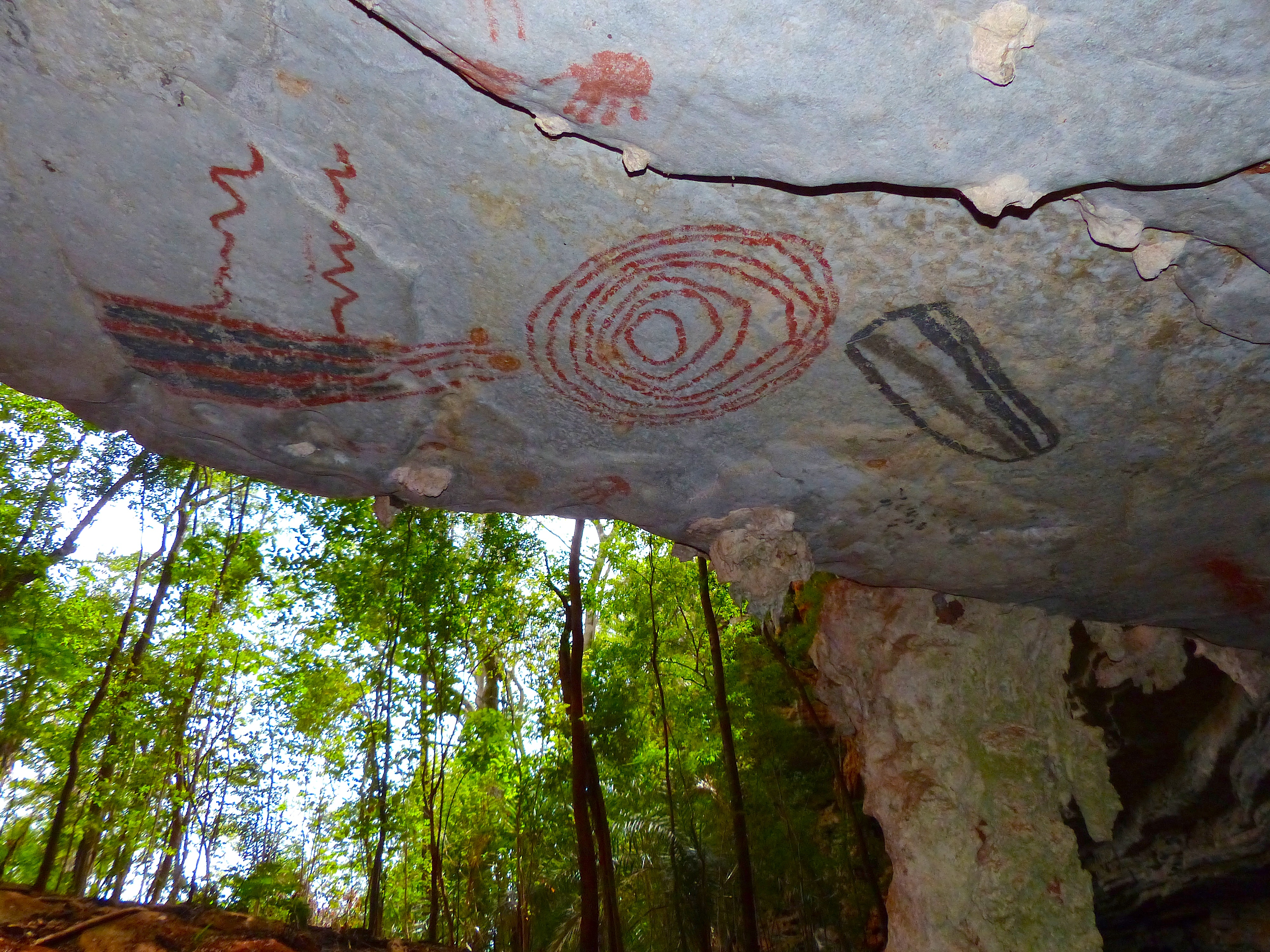 Rock Painting Brazil