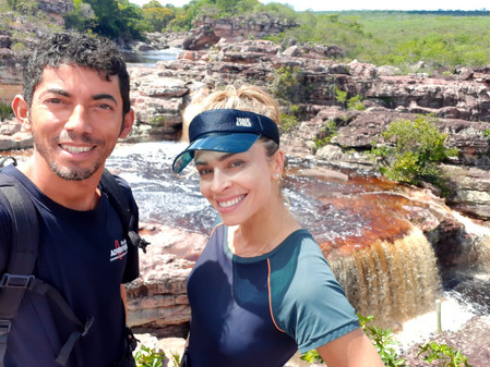 Grazi Massafera junto com a Brasilien Adventure na Chapada Diamantina