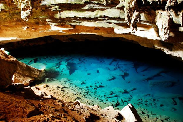 Azul cave (blue cave)