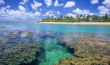 Marau Taipu de Fora beaches with the Brasilien Adventure Tour operator