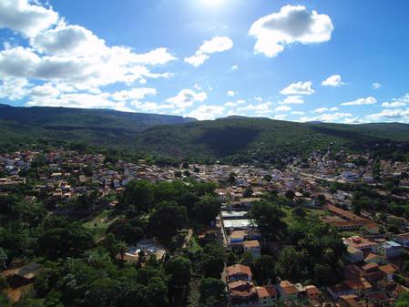 Photo from drone - Lencois Chapada Diamantina