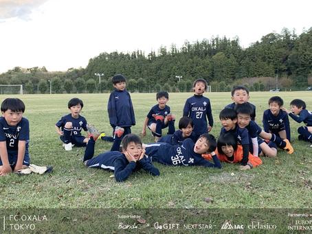U9 大会|OXALA TOKYO クラブチーム