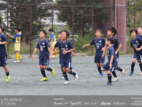 U10 公式戦|OXALA TOKYOクラブチーム