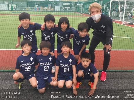 U8 大会 OXALA TOKYO クラブチーム