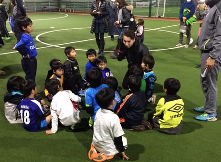 ☆英語でサッカー☆