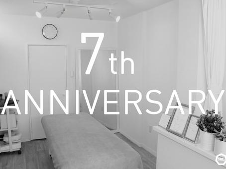 開業 7周年記念