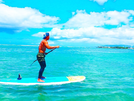 ☆SUPトレーニング in Hawaii☆