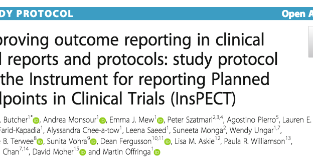 InsPECT study protocol now available online!