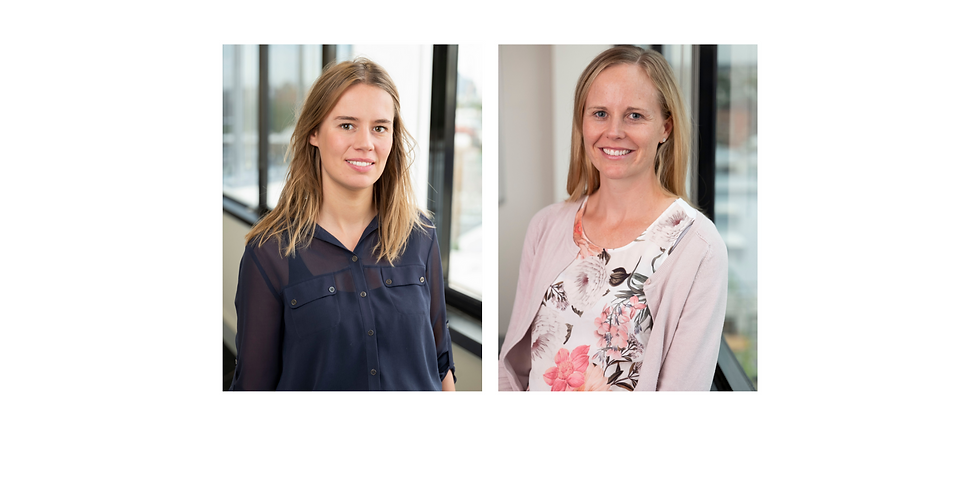 November StaR Forum - Anna Lene Seidler, PhD and Kylie Hunter