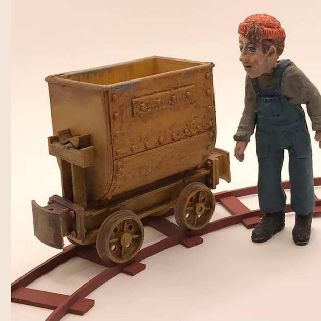 Tipping Tub Wagon