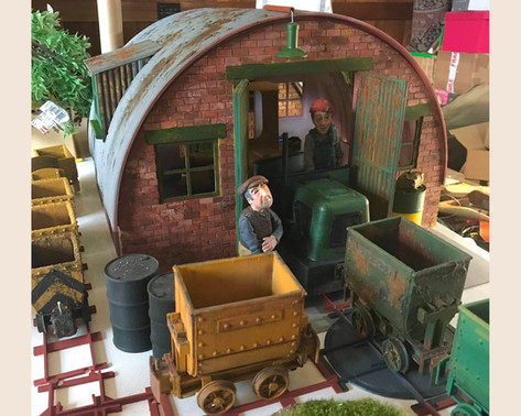 Tin Hut Engine Shed (7/8 scale)