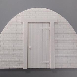 Tin Hut - Brick Front