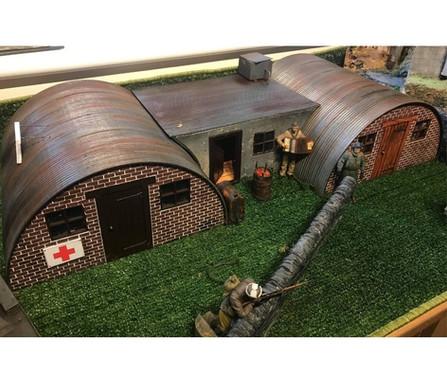 1/16 Scale Nissen huts
