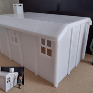 Concrete Lineside Hut