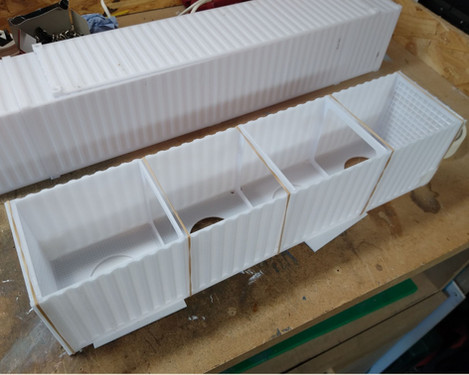 G scale 40' Intermodal Container