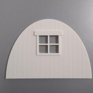 Tin Hut - Timber Back