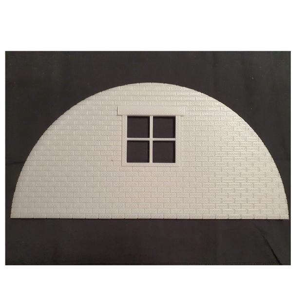 Tin Hut - Brick Back Panel