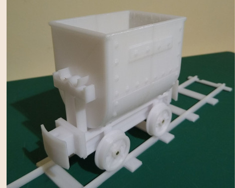 "7/8"" scale tub wagon"