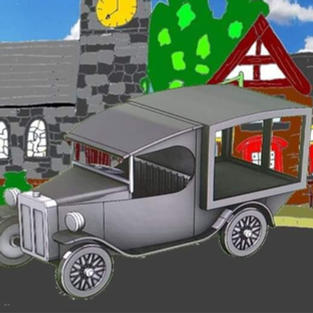 Mostyn Seven Hearse or milk/produce van