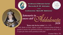 Manifesto Settena alla B.V. Addolorata