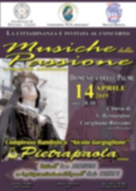locandina concerto passione 2019_tipogra