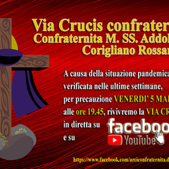 VIDEO DIRETTA: Via Crucis Confraternale