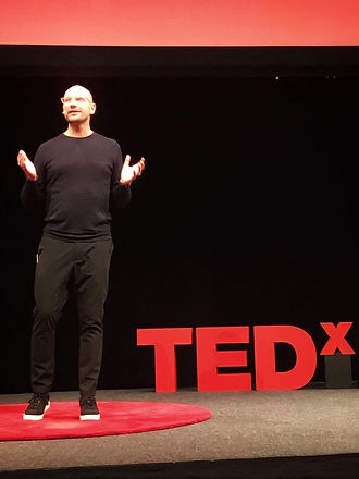 Ulf Skarin TEDX-talk Stockholm Waterfront 2018