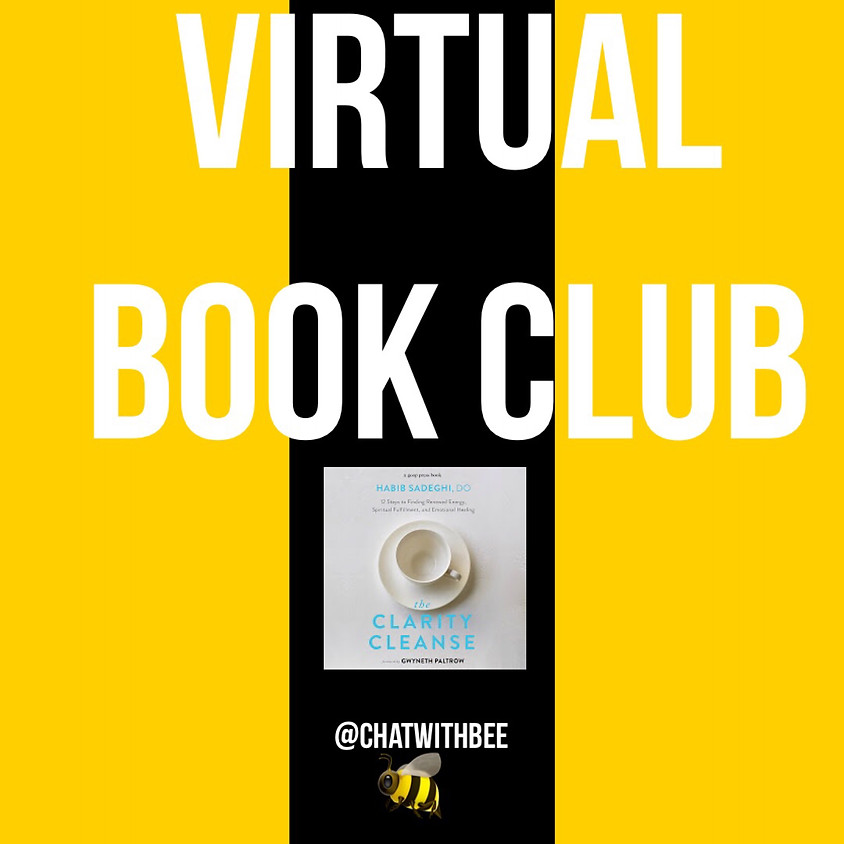 August Virtual Book Club -- The Clarity Cleanse by Habib Sadeghi