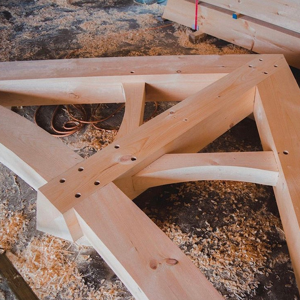 Solid Wood Trusses
