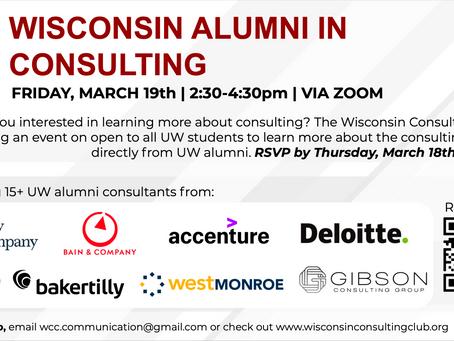 Alumni in Consulting - Spring 2021