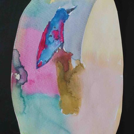 """02 """"Der Vogel den wir gerettet haben"""" Milena K._8 Jahre"""
