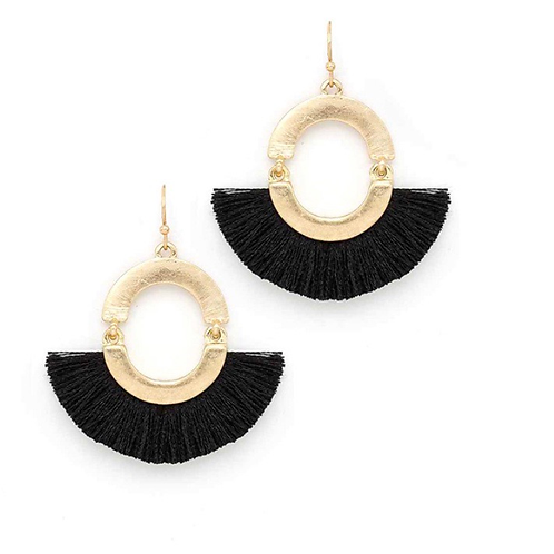 Jayce Fringe Earrings