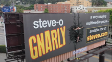 """Steve-O Billboard Stunt"" - Live Stream Director"