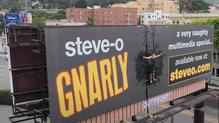 """Steve-O Billboard Stunt"" - Live Stream Director"