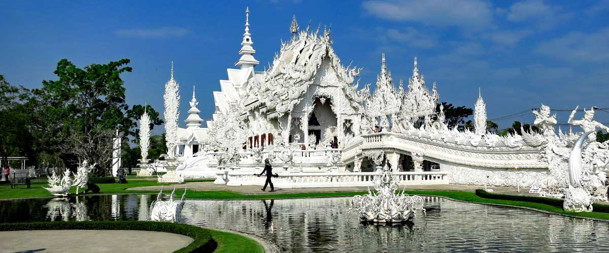 White Temple Wide