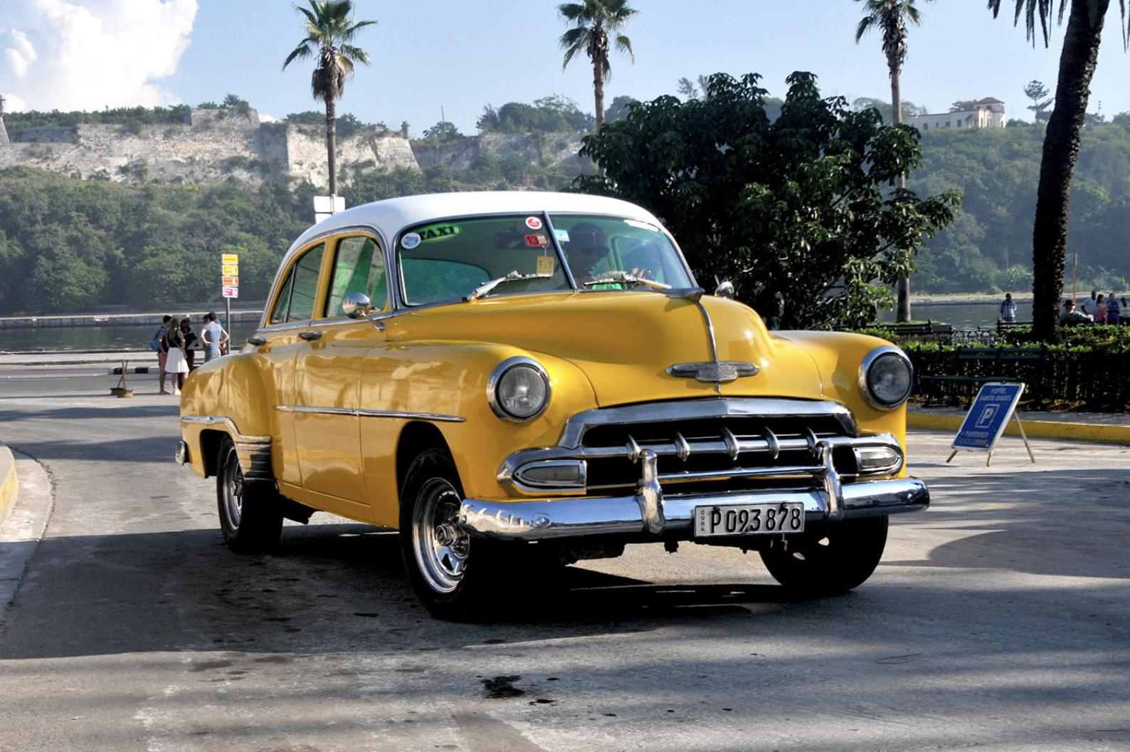 Classic Car Yellow