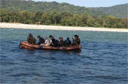 Rafting at Manas National Park