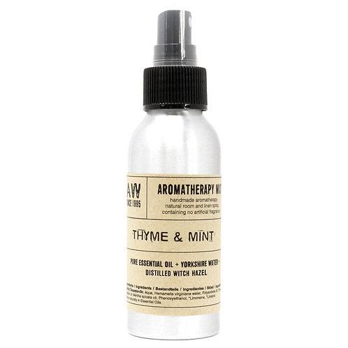 100ml Essential Oil Mist - Thyme & Mint