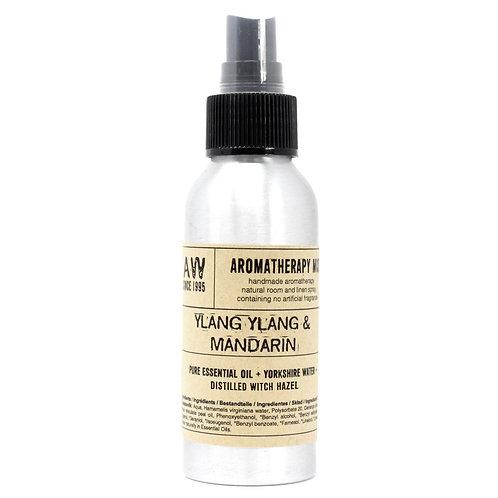 100ml Essential Oil Mist - Ylang Ylang & Mandarin