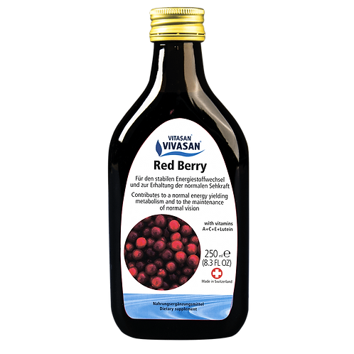 Syrup Red Berry (250 ml)