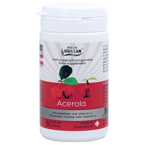 Acerola tablets - tropical cherry Vit C