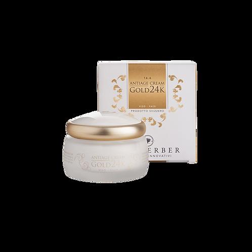 Anti-aging cream Gold 24K Locherber (50 ml)