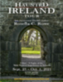 - Large Event Poster Haunted Ireland Tou