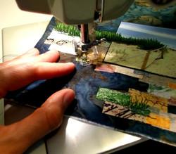 Work-in-progress Stitching