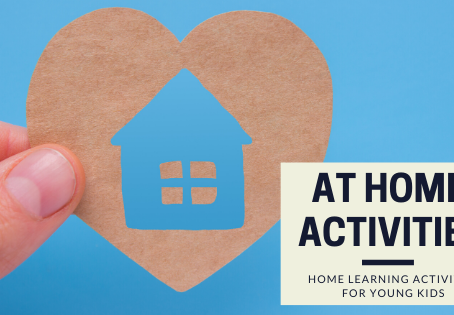 At Home Activities For Young Kids!