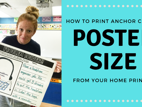 How To Print Poster's From Your Home Printer