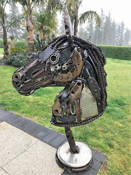 Horse Head Bust - Life Sized