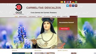 Carmelitas Descalzos - Curia General del Carmelo Teresiano - Renovación de la web