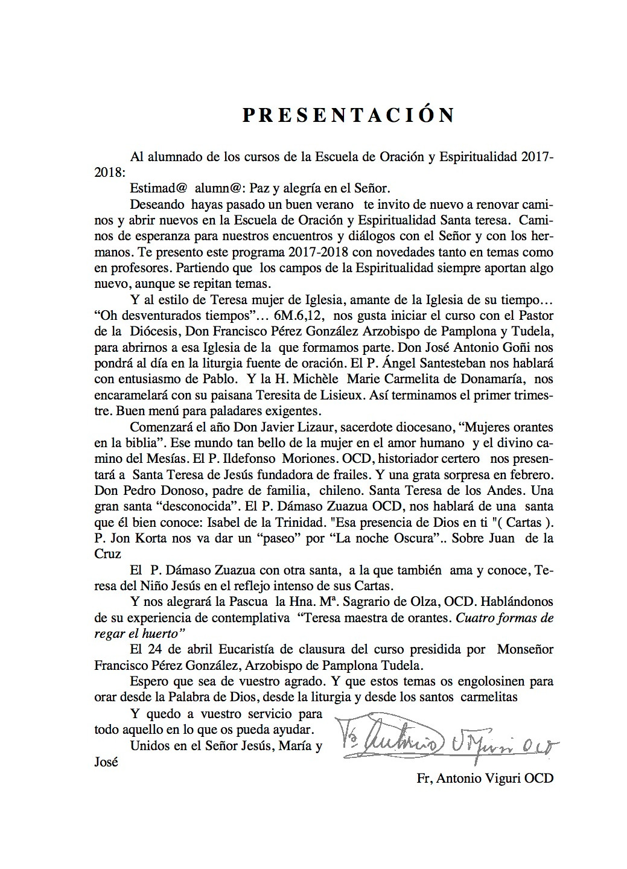 12- ESCUELA DE ORACION PROGRAMA 201772018-2