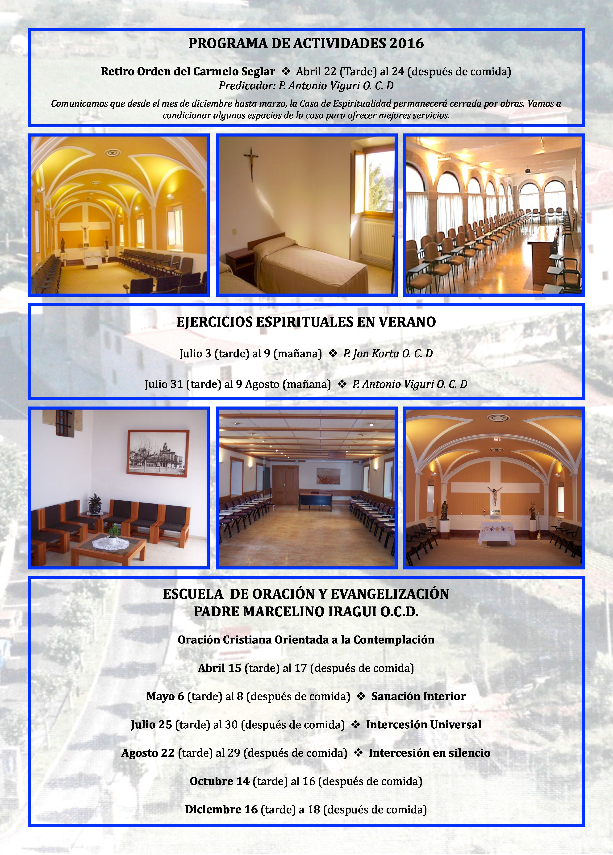 Casa Espiritualidad 2016